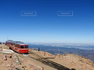 絶景,雪,電車,アメリカ,山,train,4000m
