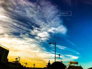 空には雲のグループの写真・画像素材[1277188]