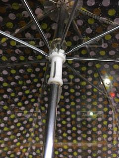 ビニール傘の写真・画像素材[1073870]
