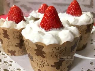 ケーキ,カップケーキ,手作り,苺ショートケーキ