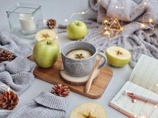青林檎紅茶の写真・画像素材[2692405]