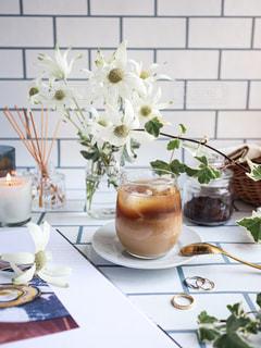 アイスコーヒーの写真・画像素材[3105994]