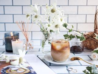アイスコーヒーの写真・画像素材[3105986]