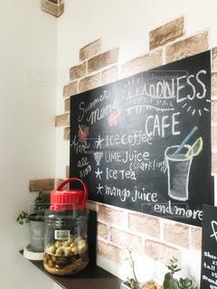 インテリア,瓶,壁,観葉植物,梅ジュース,多肉植物,チョークアート,黒板アート,黒板クロス