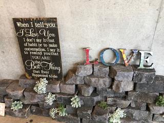 LOVE♡カフェの雑貨の写真・画像素材[901444]