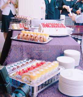 新郎特製ウェディングケーキ達の写真・画像素材[1228871]