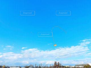 空の凧の写真・画像素材[1866725]