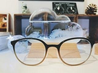 ファッション,アクセサリー,眼鏡,オブジェ,フレーム,グリーン,結晶,メガネ,PCメガネ,ストームグラス