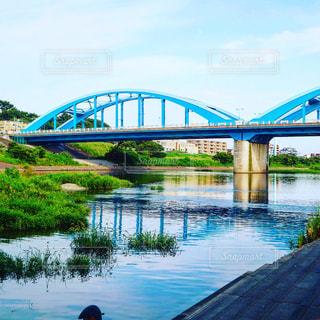 自然,空,橋,東京,青,川,街,神奈川,多摩川,丸子橋,新丸子