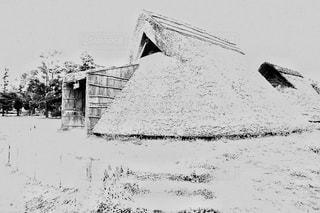 竪穴式住居の写真・画像素材[849323]