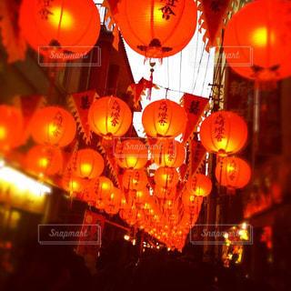長崎ランタン祭りの写真・画像素材[854580]