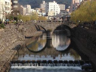 眼鏡橋の写真・画像素材[854746]