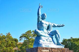 平和祈念像の写真・画像素材[858059]