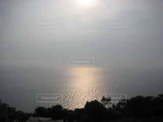 空と海と夕日の写真・画像素材[878528]