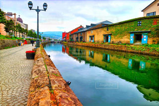 小樽運河の写真・画像素材[888188]