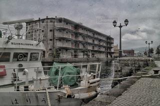 小樽運河の古い工場 - No.888189