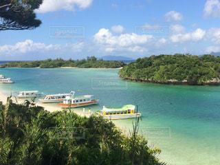 自然,海,絶景,砂浜,船,景色,観光,旅行,旅,日本,石垣島,川平湾