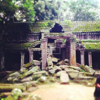 カンボジアの遺跡の写真・画像素材[916892]