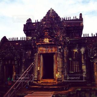 カンボジアのアンコールワットの写真・画像素材[919924]