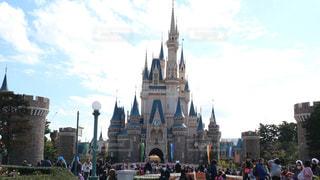 空,屋外,城,旅行,日本,ディズニーランド,天気,千葉,ディズニー,シンデレラ城,シンデレラ