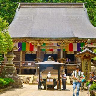 山形 山寺の写真・画像素材[1016562]