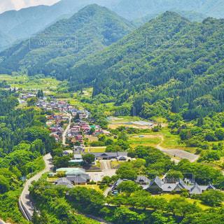 山寺からの風景の写真・画像素材[1166710]