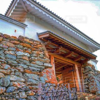 掛川城の門の写真・画像素材[1203533]