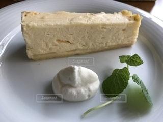 手作りチーズケーキの写真・画像素材[1647391]