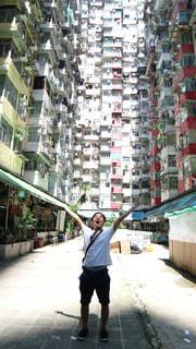 建物,海外,晴れ,アジア,景色,光,観光,外,旅行,旅,香港,明るい,海外旅行,世界,ロケ地,マンション,映画,トランスフォーマー,モンスターマンション,映画のロケ地