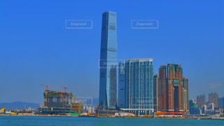 海,建物,晴れ,アジア,景色,観光,都会,旅行,旅,ホテル,香港,明るい,海外旅行,世界,マンション,高級感