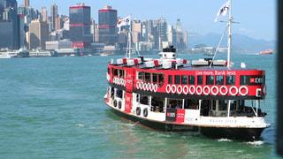 海,建物,海外,晴れ,船,アジア,景色,観光,都会,外,旅行,旅,フェリー,香港,明るい,海外旅行,世界,マンション,スターフェリー,高級感