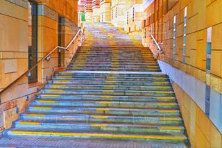 六本木ヒルズの階段の写真・画像素材[2157287]