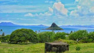ハワイの景色の写真・画像素材[4458935]