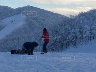 カップル,雪,氷,背景,人物,二人,スノボ,リフト,スノーボード,二人きり