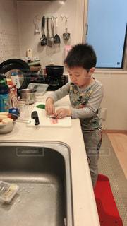 キッズ,キッチン,子供,料理,巻き巻き