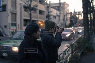 カップル,カメラマン,恋,ツーショット