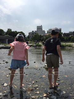 水遊びの写真・画像素材[668659]