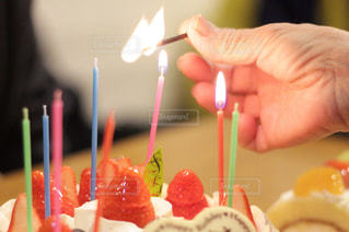 スイーツ,ケーキ,プレゼント,ろうそく,誕生日,バースデーケーキ