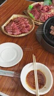 食べ物,自然,食事,夫婦,焼肉,バーベキュー,牛肉,飲食,別荘,夫婦水入らず,2人焼肉