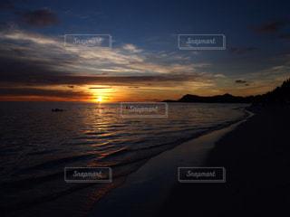 海,夕日,ビーチ,海外旅行,ボラボラ島,タヒチ,新婚旅行