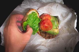 ハンバーガーの写真・画像素材[367471]
