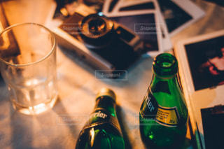 クローズ ボトルのアップの写真・画像素材[899161]