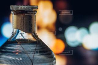 クローズ ボトルのアップの写真・画像素材[1261268]