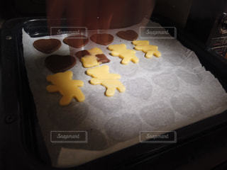 オーブンでクッキー焼くのです。の写真・画像素材[1785838]