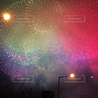 星いっぱい空の写真・画像素材[1312457]