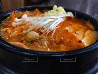 スープのボウルの写真・画像素材[3967052]