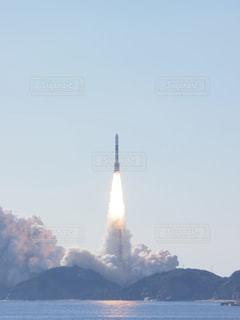 ロケット打ち上げの瞬間の写真・画像素材[1689012]