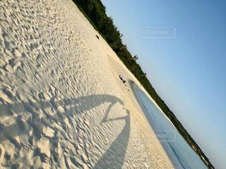 海,空,カップル,ビーチ,青空,砂浜,沖縄,影,シルエット,ハート,旅行,旅,愛,宮古島,ラブ