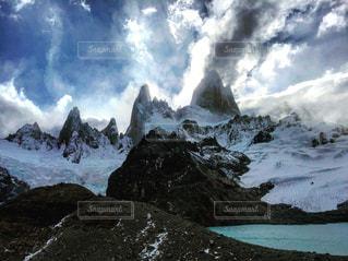 Patagoniaのロゴマークのモデルになった山!フィッツロイ♡の写真・画像素材[1217914]