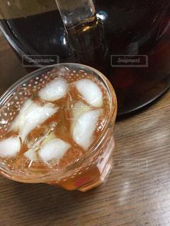 氷,ガラス,コップ,ビン,ロック,梅酒,古酒
